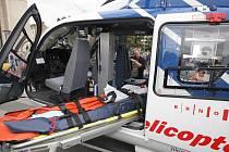 Nablýskaná helikoptéra Nikol se představila Brňanům.