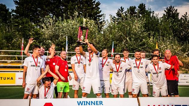 Češi skončili druzí na reprezentačním turnaji v malém fotbale za Lužánkami.