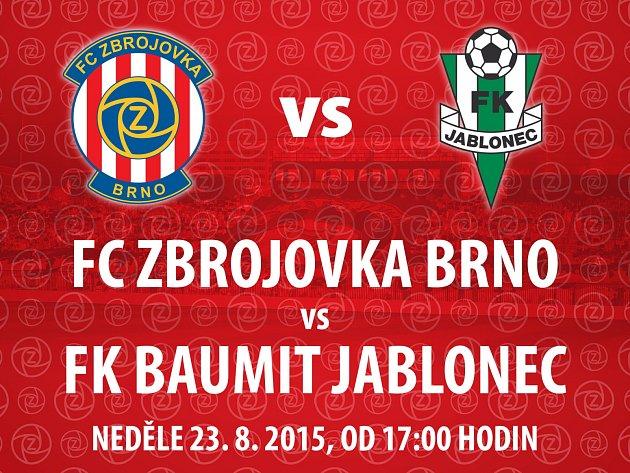 Soutěž o lístky na zápas Zbrojovky proti Jablonci.