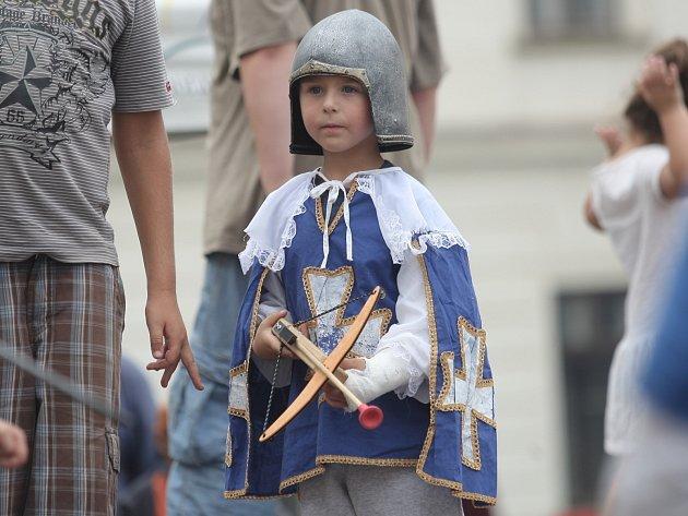 Rytířské slavnosti na rosickém zámku.