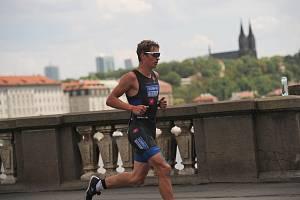 Brněnský triatlonista Lukáš Kočař skončil v loňském ročníku Ford ChallengePrague na šesté příčce.