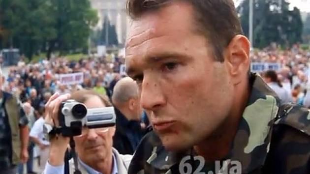 Ivo Stejskal z Brna na Ukrajině.