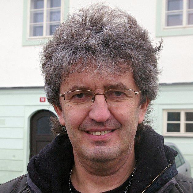 Miroslav Marek, 59let, prezident Agentury Dobrý den, Pelhřimov