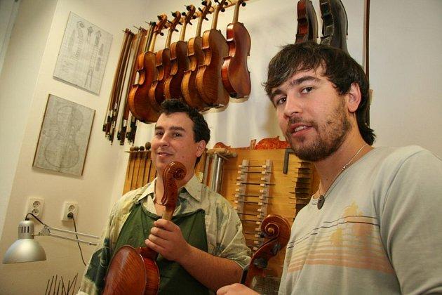 Mistři houslaři: bratři Bursíkovi