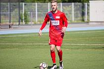 David Presl z Brna v Superlize malého fotbalu.