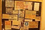 Sovětskou okupaci z roku 1968 si do konce října mohou připomenout návštěvníci výstavy Rok 1968 v Brně očima cenzora.