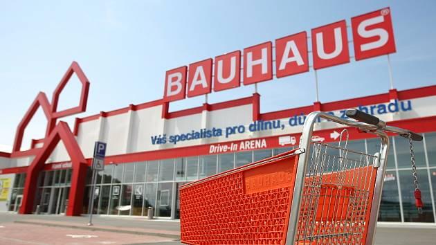 Hobbymarket Bauhaus v brněnských Ivanovicích - ilustrační foto.