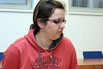 Aneta Florová alias Pipka 23 u brněnského soudu.