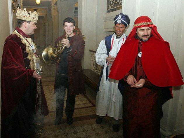 Vítání Tří králů