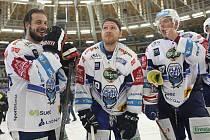 Zleva Martin Zaťovič, Martin Erat a Jan Hruška.