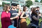 Festival Ghettofest se uskutečnil v sobotu v okolí brněnských ulic Bratislavská a Hvězdova. Nabídl třeba hudební představení, lidé se podívali i do areálu bývalé káznice.