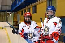 Hokejistky brněnského klubu Cherokees.