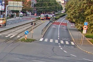 Školáka srazila tramvaj.