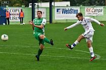 Líšeňští fotbalisté prohráli v neděli na hřišti Vlašimi 1:4. Ilustrační foto: SK Líšeň/Martina Šperková