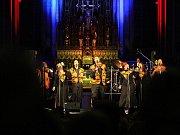 Harlem Gospel Choir v Brně.