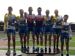 Cyklistické mistrovství republiky na dráze.