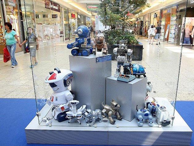 Výstava Století robotů v brněnské Galerii Vaňkovka.
