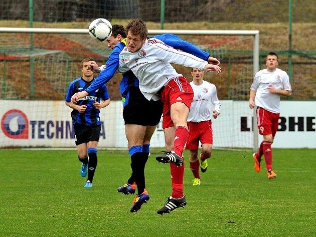 Fotbalisté druholigového Třince prohráli na domácím hřišti s Brnem 1:2.