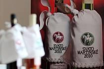 Tisková konference o Svatomartinském víně v Hotelu International.