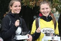 Světlušky v Brně pomáhaly nevidomým