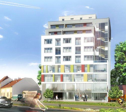 Návrhy nového územního plánu počítají svyššími budovami kolem ulic Gajdošova a Otakara Ševčíka, které odcloní hluk.