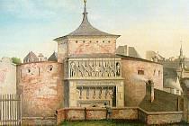 Židovská brána.