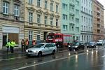 Výbuch plynu na třídě Kapitána Jaroše v pondělí zkomplikoval také dopravu v centru Brna.
