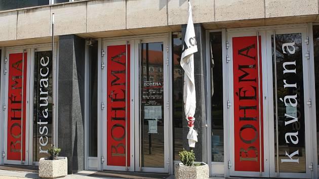 Brněnská restaurace Bohéma ještě když fungovala v prostorách budovy Janáčkova divadla v Brně. Ilustrační foto.