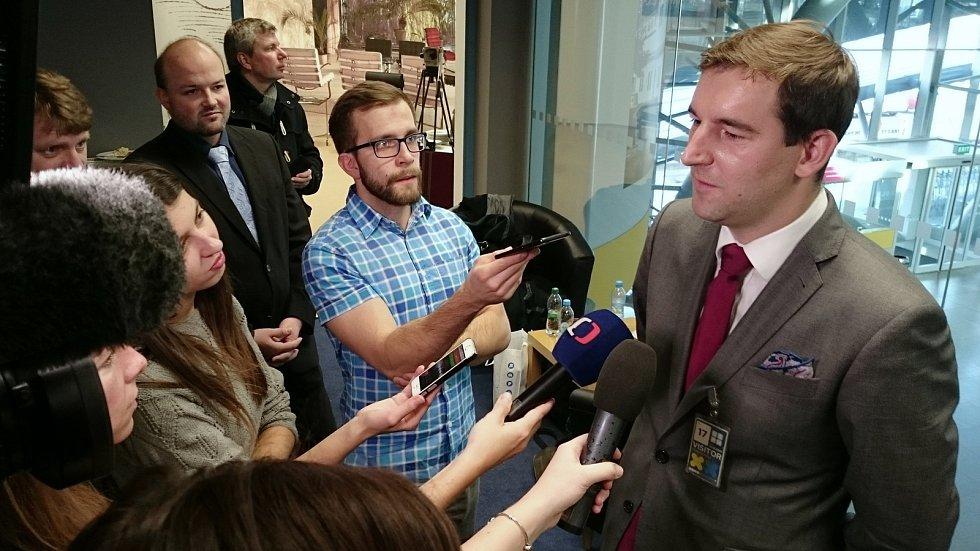 Předseda představenstva Letiště Brno Milan Kratina.