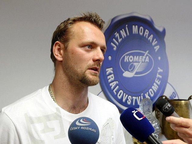 Hokejista Andrej Podkonický.