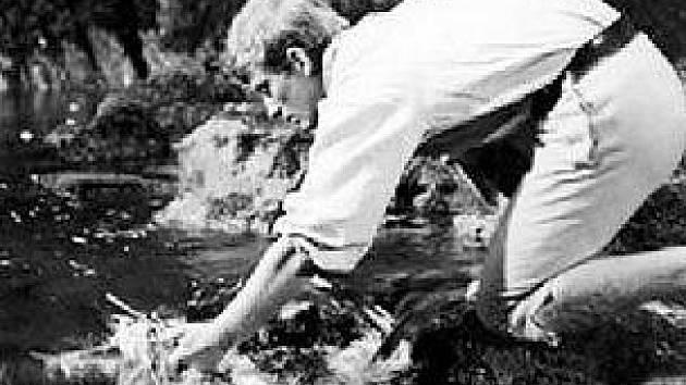 Postavu mlynářova syna ve filmu ztvárnil Vít Olmer, později známý český režisér.