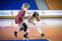EuroCup: KP Brno (v bílých dresech) - MBA Moskva