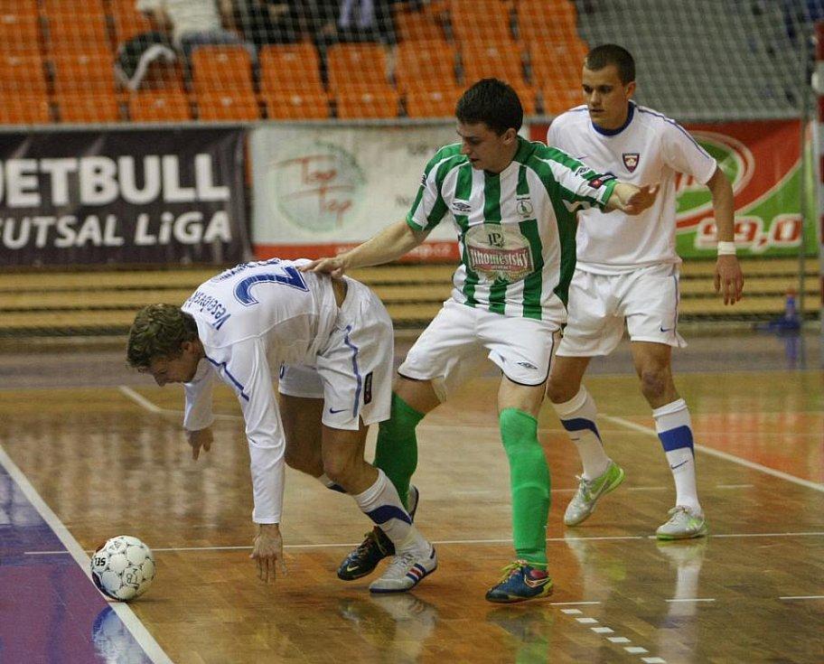 Futsalisté Tanga v utkání s Bohemians.