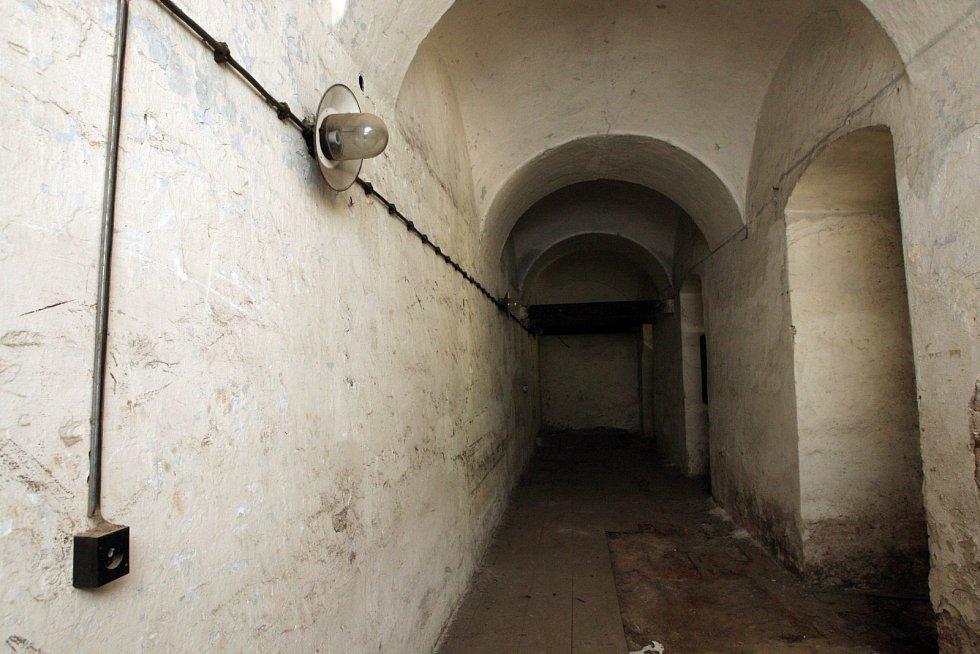Bývalá brněnská káznice mezi ulicemi Bratislavská, Soudní a Cejl.