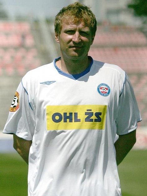 Trenér Aleš Křeček - 1. FC Brno.