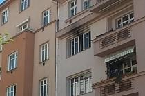 V pondělí dopoledne vznikl požár v bytě ve třetím patře v Botanické ulici v Brně.