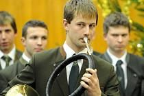 Vánoční koncert Trubačů Lesnické a dřevařské fakulty Mendelovy univerzity.