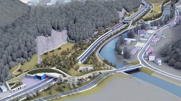 V dubnu 2018 začnou práce na další části brněnského velkého městského okruhu.