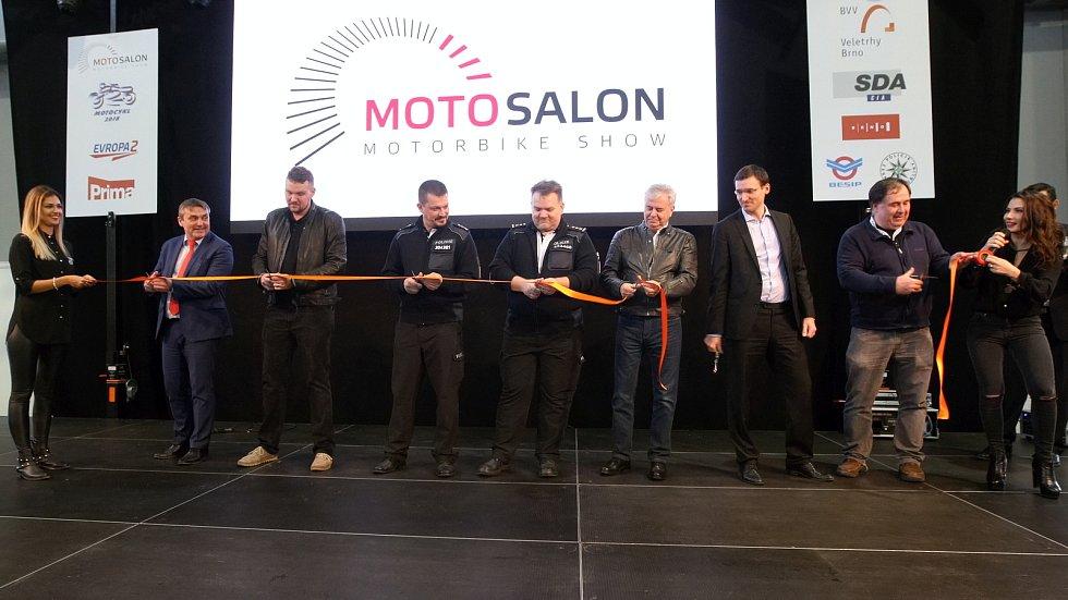 Motosalon 2018 na brněnském výstavišti.