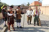 Akce Špilberk žije i po Bílé hoře na stejnojmenném brněnském hradě, 12. 9. 2020.