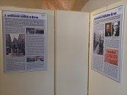 V Křížové chodbě brněnské Nové radnice začala výstava k výročí vzniku takzvaného Velkého Brna. Lidé uvidí historické mapy či dobové předměty.