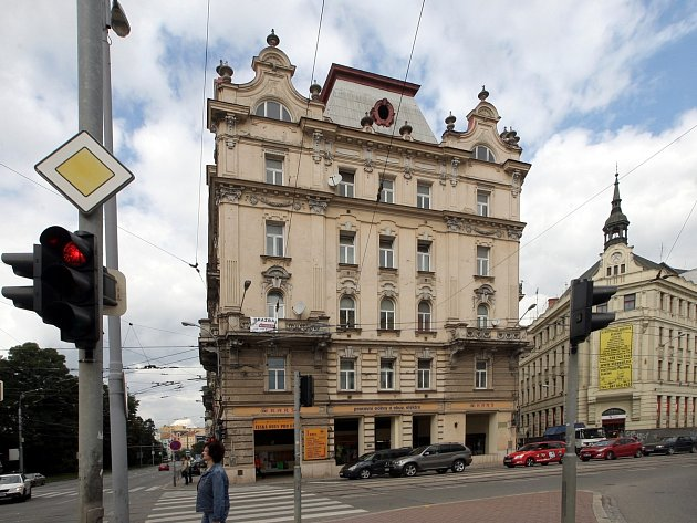 Památkově chráněný bytový dům v Brně na Kolišti 49.