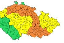Na většině území hrozí ledovka. Nejhorší situace bude v Jihomoravském kraji a vee východní části Vysočiny.