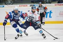 36. kolo extraligy ledního hokeje mezi Bílí Tygři Liberec a HC Kometa Brno. Na snímku Marek Zachar