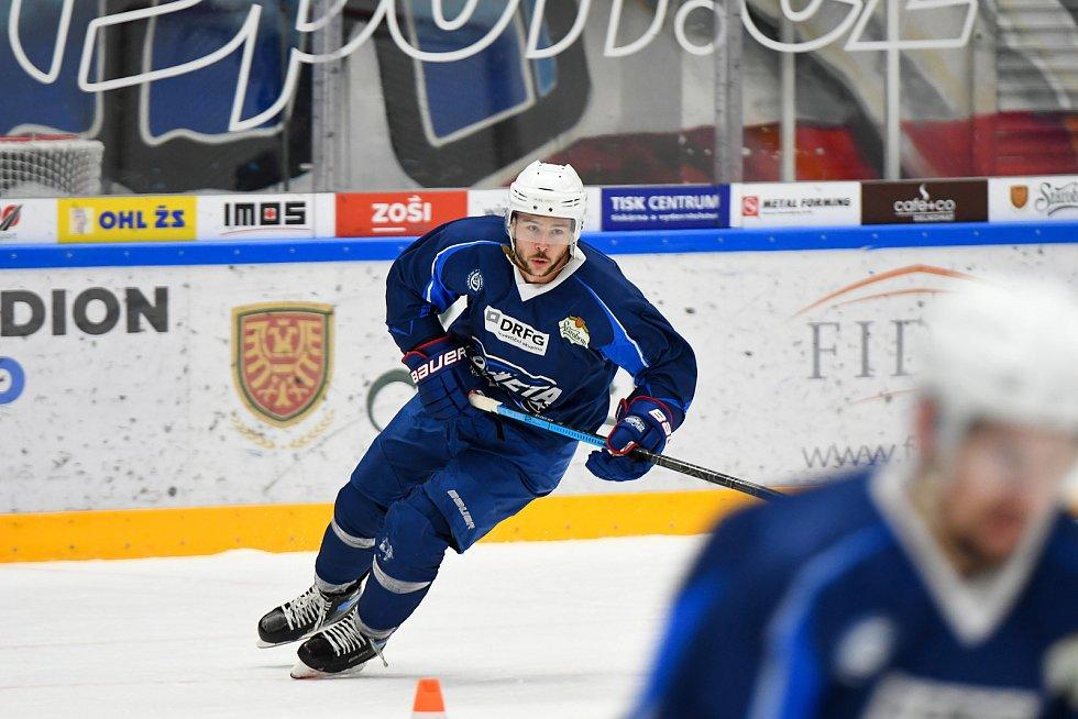 Hokejisté Komety ve středu zahájili na ledě DRFG Areny přípravu na novou sezonu.