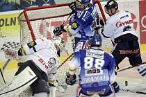 Hokejisté Komety ztratili v závěru vedení nad Libercem. S tygry prohráli 3:4.