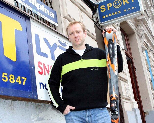 Majitel firmy Jindřich Barabáš.