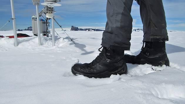 Přežily sněhovou bouři i mráz. České výrobky odolaly antarktickým podmínkám