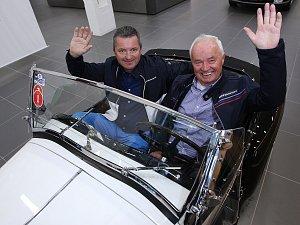 Muzeum historických BMW otevírá ve Slatině. Je druhé největší v Evropě