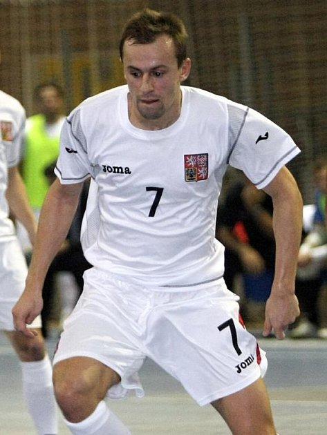 Futsalista Lukáš Rešetár.